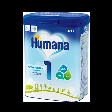 Humana 1 Мляко за кърмачета
