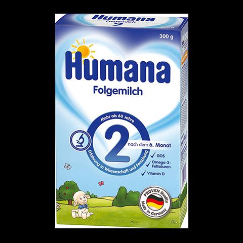 Humana 2 Преходно мляко